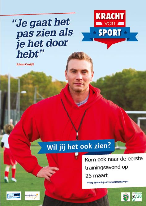 Kracht van sport poster2015