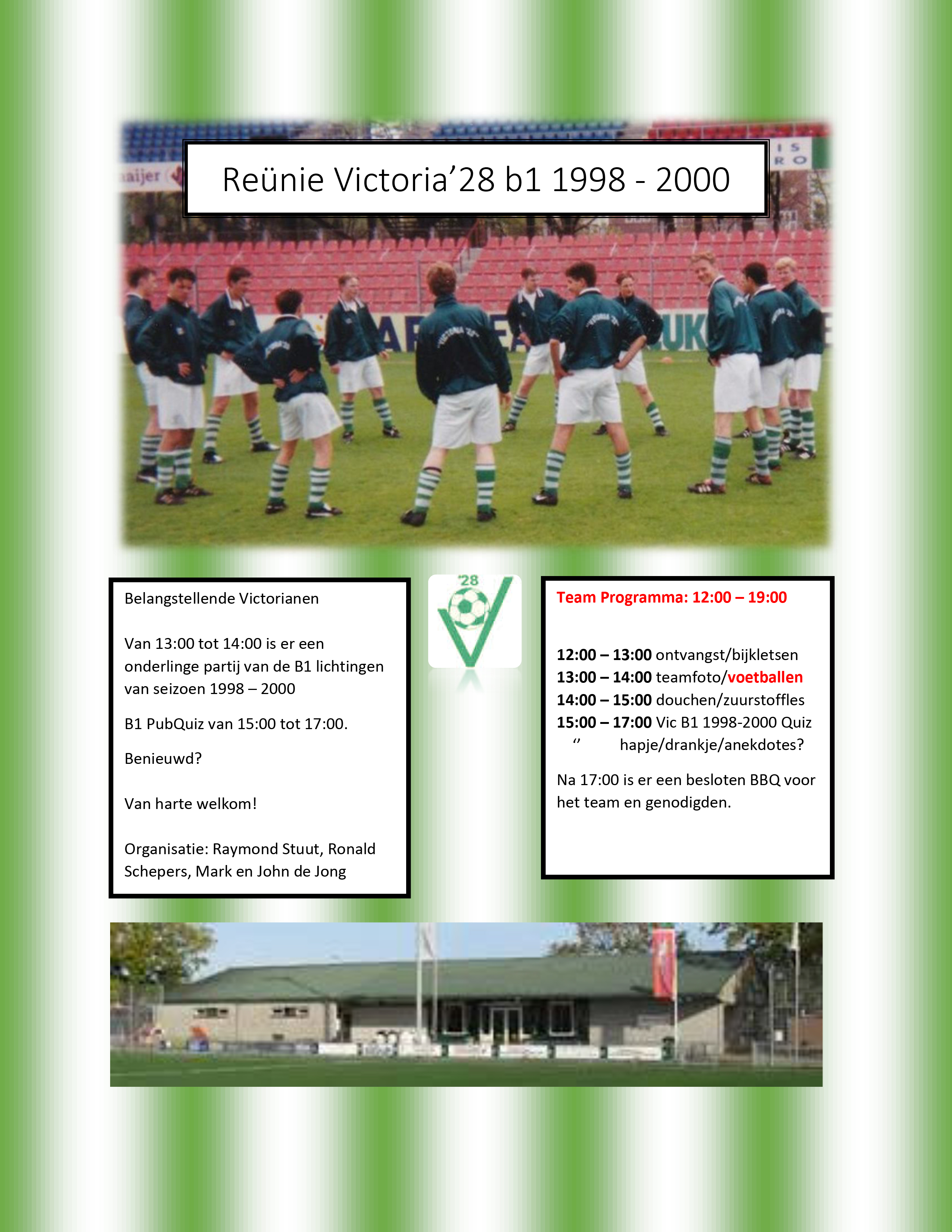 Reünie Victoria'28 b1 1998 - 2000