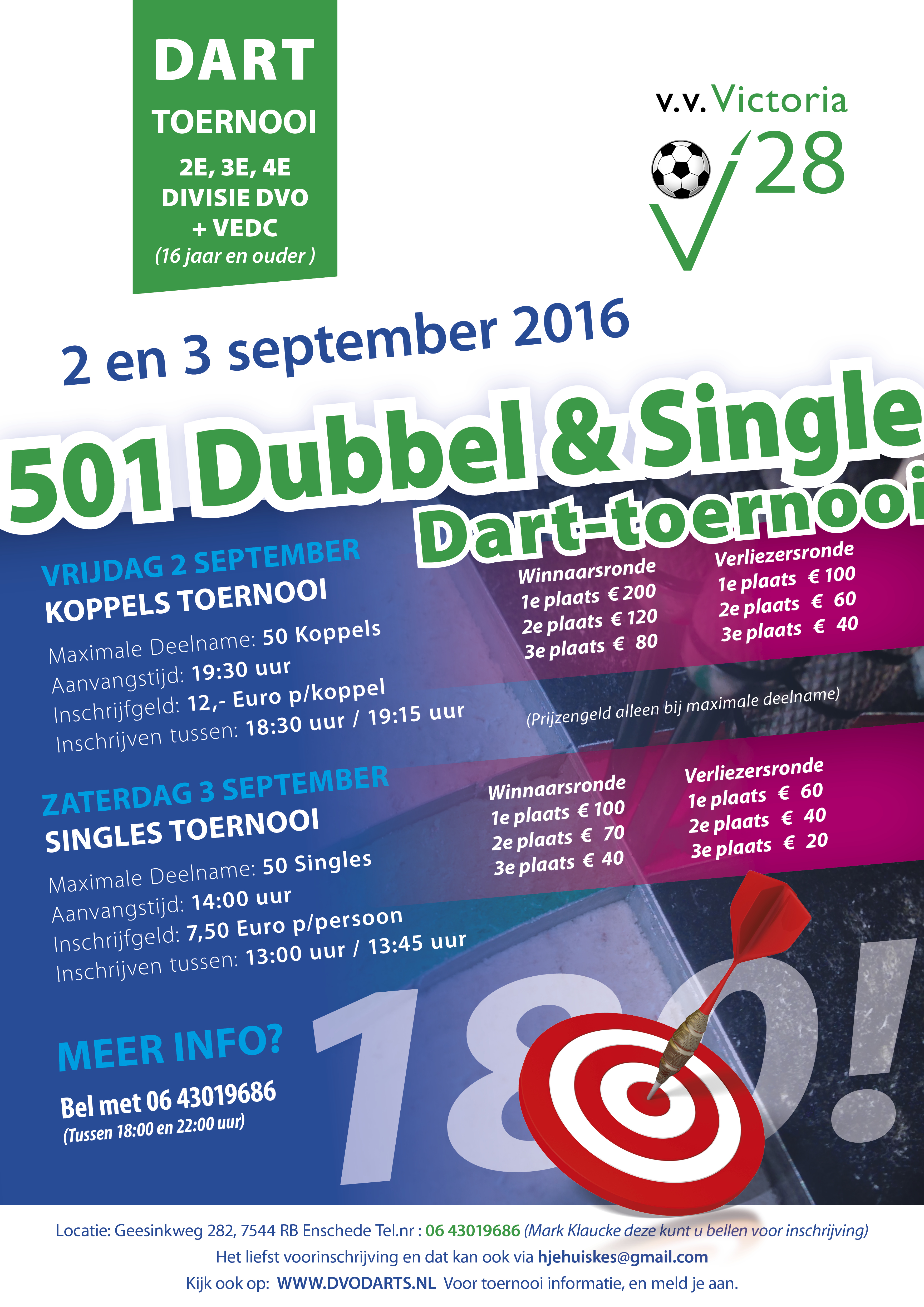 A3 Poster Darttoernooi 2016 kopie